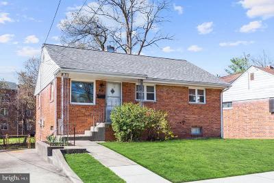 Hyattsville Rental For Rent: 1411 Quebec Street