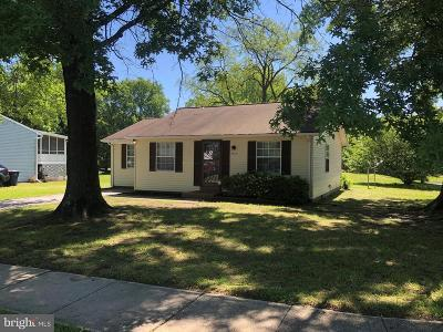 Upper Marlboro MD Single Family Home For Sale: $269,900