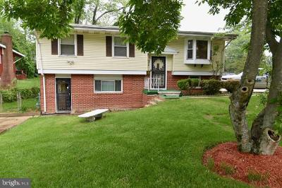 Capitol Heights Single Family Home For Sale: 6410 Wilburn Drive