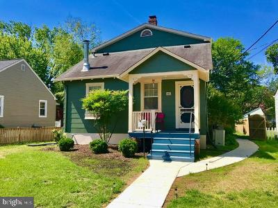 Laurel Single Family Home For Sale: 402 Carroll Avenue