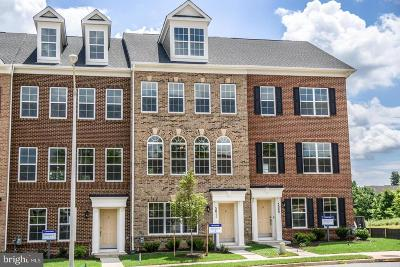 College Park, Greenbelt Townhouse For Sale: 4705 Cherokee Street