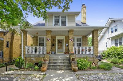 Hyattsville Single Family Home For Sale: 4018 Hamilton Street