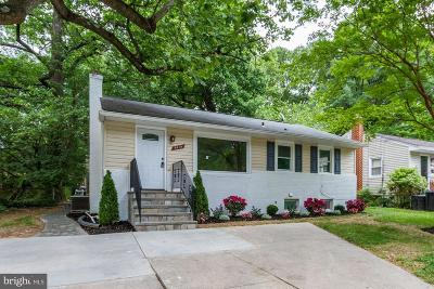 Berwyn Heights Single Family Home Active Under Contract: 8419 57th Avenue