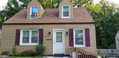 Capitol Heights Single Family Home For Sale: 4613 Gunther Street