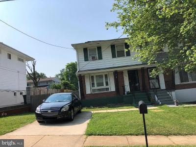 Capitol Heights Townhouse For Sale: 7241 G Street