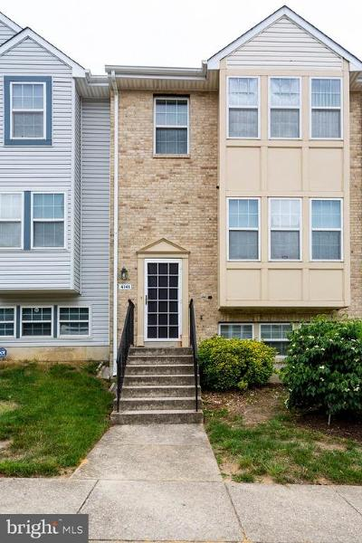 Suitland Condo For Sale: 4141 Candy Apple Lane #4