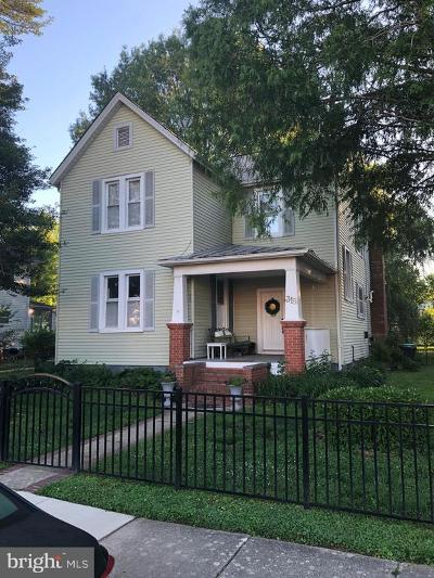 Laurel Single Family Home Under Contract: 315 Laurel Avenue