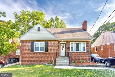 Hyattsville Single Family Home For Sale: 6451 Old Landover Road