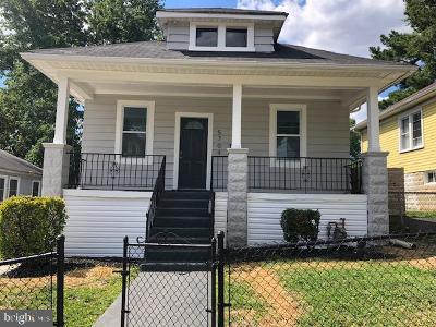 Capitol Heights Single Family Home For Sale: 5704 Davey Street