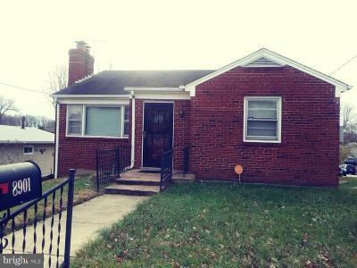 Glenarden Single Family Home For Sale: 8901 Glenarden Parkway