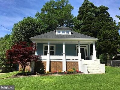 Upper Marlboro Single Family Home For Sale: 16007 Marlboro Pike