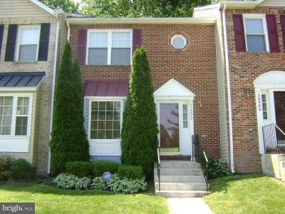 Upper Marlboro Townhouse For Sale: 12462 Old Colony Drive