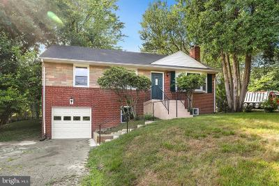 Temple Hills Single Family Home For Sale: 4610 Henderson Road