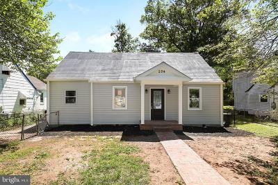 Oxon Hill Single Family Home Active Under Contract: 204 N Huron Drive
