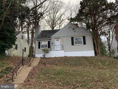 District Heights Single Family Home For Sale: 7013 Mason Street