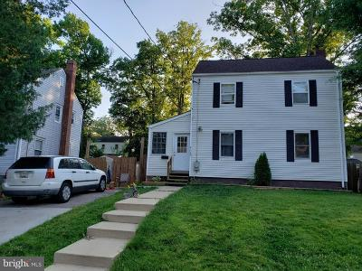 Hyattsville Single Family Home For Sale: 4108 72nd Avenue