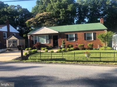 Temple Hills Single Family Home For Sale: 4506 Old Branch Avenue