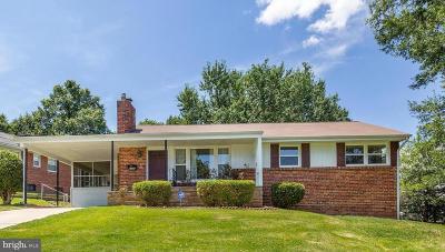 New Carrollton Single Family Home Active Under Contract: 8308 Longfellow Street