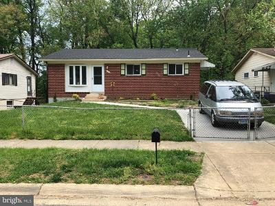 Prince Georges County, Charles County Single Family Home For Sale: 1214 Darlington Street