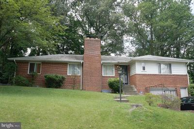 Temple Hills Single Family Home For Sale: 3807 24th Avenue