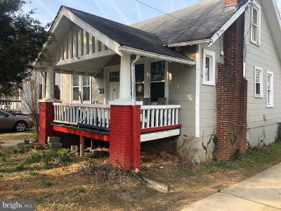 Hyattsville Single Family Home Active Under Contract: 5502 40th Avenue