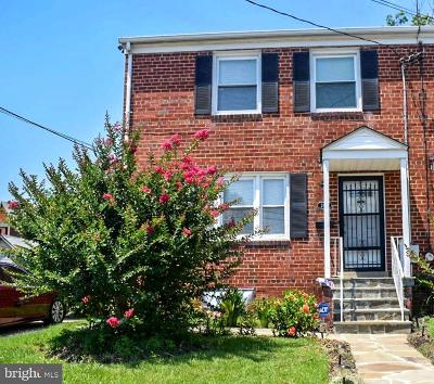 Temple Hills Single Family Home Active Under Contract: 2414 Kenton Place