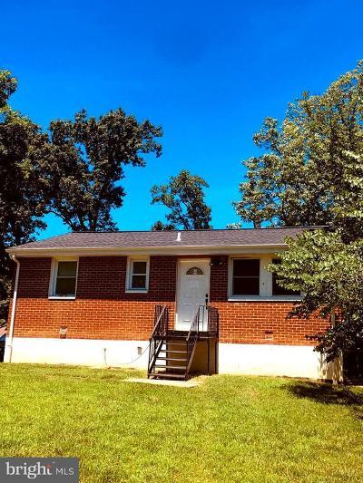 Upper Marlboro Single Family Home For Sale: 9122 Washington Avenue