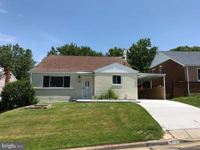 Suitland Single Family Home For Sale: 1814 Porter Avenue