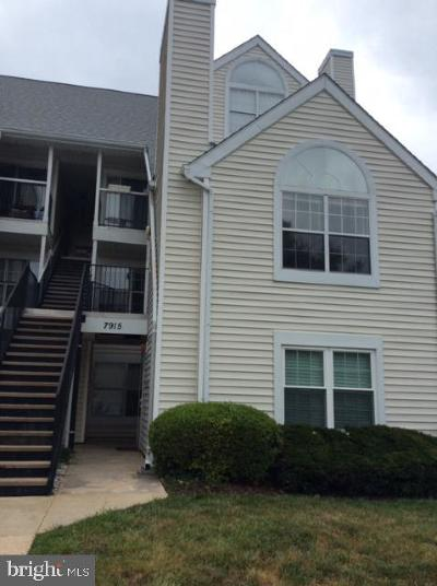 Laurel Rental For Rent: 7915 Bayshore Drive #602