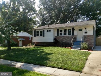 Lanham Single Family Home For Sale: 6004 Magnolia Court
