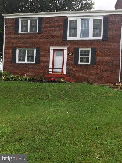Capitol Heights Single Family Home For Sale: 4117 Ellis Street