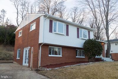 Oxon Hill Single Family Home For Sale: 7403 Abbington Drive