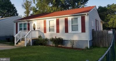 Landover Single Family Home For Sale: 2003 Virginia Avenue