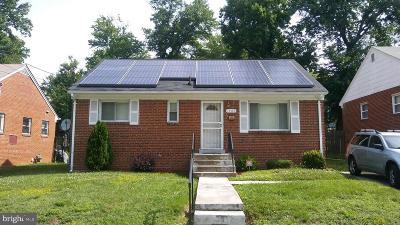 Capitol Heights Single Family Home For Sale: 1509 Nova Avenue