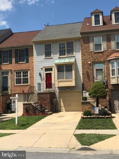 Laurel Townhouse For Sale: 7724 Cypress Street