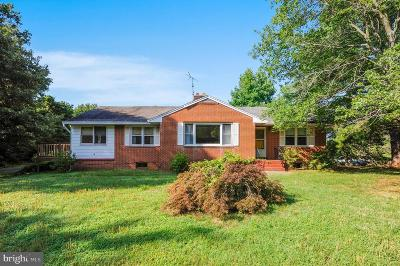 Upper Marlboro Single Family Home For Sale: 9801 Marlboro Pike