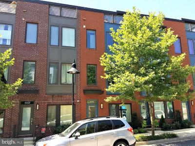 Hyattsville Townhouse For Sale: 4555 Longfellow Street