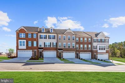 Brandywine Townhouse For Sale: 14432 Hunts Farm Road