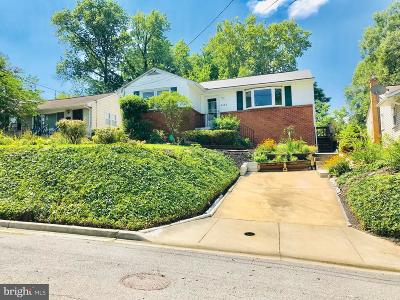 Berwyn Heights Single Family Home Active Under Contract: 6115 Quebec Place