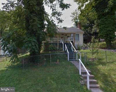 Hyattsville Single Family Home For Sale: 5603 Gallatin Street