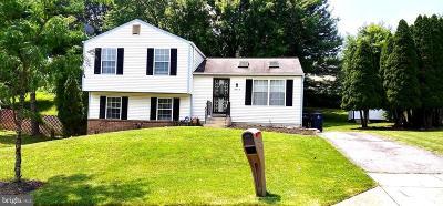 Upper Marlboro Single Family Home For Sale: 9715 Teakwood Drive