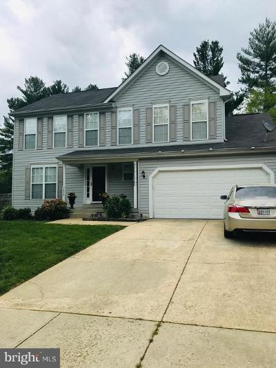 Upper Marlboro Single Family Home For Sale: 9606 Toucan Drive