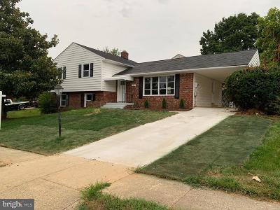 Upper Marlboro Single Family Home For Sale: 25 Bannington Drive