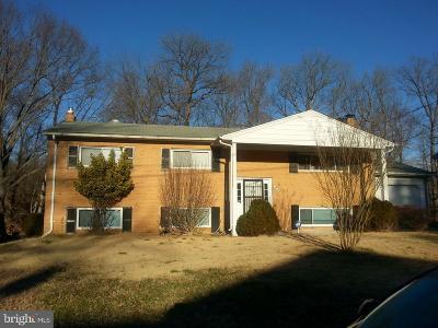 Temple Hills Rental For Rent: 6204 Claridge Road