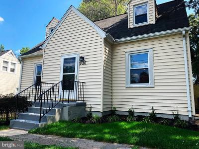 Laurel Single Family Home For Sale: 926 Nichols Drive