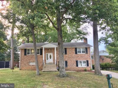 Prince Georges County, Charles County Single Family Home For Sale: 5206 Taft Road