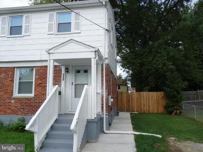 Oxon Hill Single Family Home For Sale: 5900 Choctaw Drive
