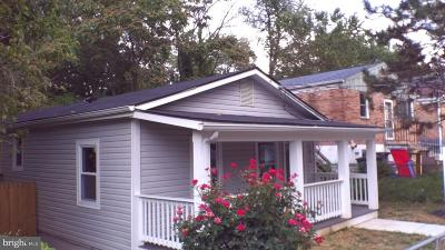 Capitol Heights Single Family Home For Sale: 5026 Fable Street