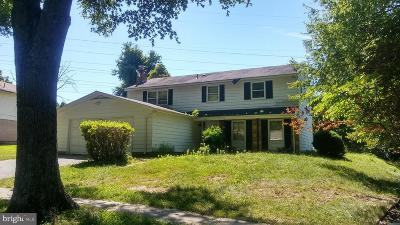 Upper Marlboro Single Family Home Active Under Contract: 9132 Old Burton Circle