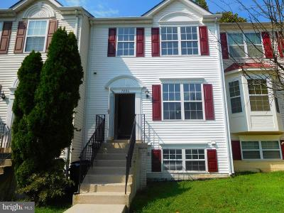 Capitol Heights Townhouse For Sale: 7006 Yellow Amber Court